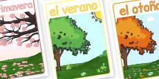 Spanish Season Posters