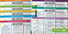 EYFS Light and Dark Lesson Plan and Enhancement Ideas