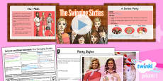 History: Leisure and Entertainment: The Swinging Sixties UKS2 Lesson Pack 3