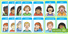 Emotions and Expressions Flashcards - Te Reo Maori