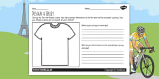Tour de France Design a Jersey Award Activity