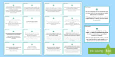 Early Finishers Challenge Cards Spanish