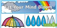 Let Your Mind Bloom Display Pack