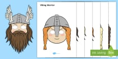 The Vikings Role Play Masks
