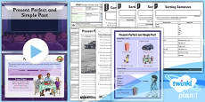 PlanIt Y3 SPaG Lesson Pack: Present Perfect Simple Past