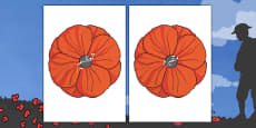Remembrance Day Poppies Topic Words on Topic Images Urdu
