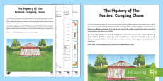 * NEW * UKS2 The Mystery of the Festival Camping Chaos Maths Game