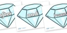 Conjunctions on Diamonds