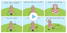 Australia - Little Miss Muffet Story PowerPoint