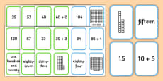 Place Value Go Fish Style Activity