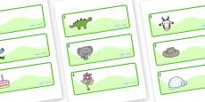 Hawthorn Themed Editable Drawer-Peg-Name Labels