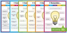 KS2 Maths Talk Sentence Starters Display Pack