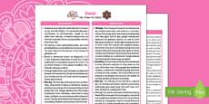 Diwali Fact Sheet for Adults