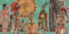 Mayan Civilisation Large Display Cut Out Pack