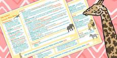 Safari KS1 Lesson Plan Ideas
