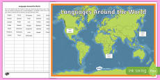 Languages of the World Display Pack
