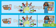 Unicef Day For Change Display Banner