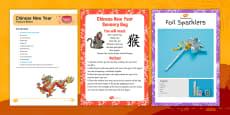 Chinese New Year Treasure Basket Ideas