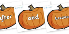 Connectives on Pumpkins