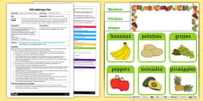 EYFS Food Around the World Adult Input Plan and Resource Pack