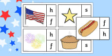 4th of July Phonics