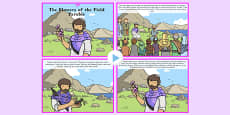 The Flowers of the Field Parable PowerPoint