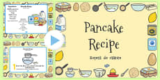 Pancake Recipe PowerPoint Romanian Translation
