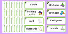 Holly Themed Editable Classroom Resource Labels