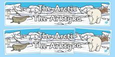 Arctic Display Banner Polish Translation