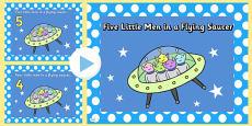Five Little Men in a Flying Saucer PowerPoint