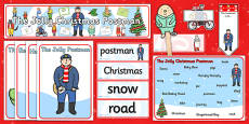 Story Sack to Support Teaching on The Jolly Christmas Postman