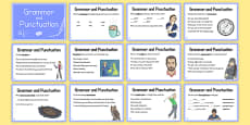 Year 6 Grammar and Punctuation Challenge Cards