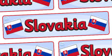 Slovakia Display Banner