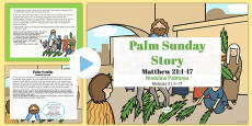 Palm Sunday Story PowerPoint Polish Translation