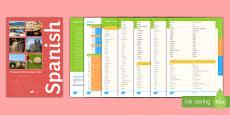 My Spanish GCSE Vocabulary Book