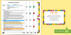 EYFS Thread a Pattern Finger Gym Plan and Resource Pack