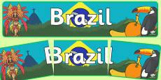 Brazil Display Banner