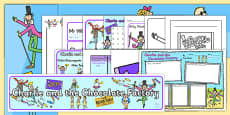 Resource Pack to Support Teaching on Charlie and the Chocolate Factory