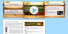 Introduction to Shakespeare Lesson Pack 2: Elizabethan Theatre Lesson Pack 1