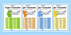 Airport International Flight Timetable