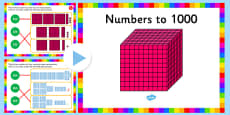 Recognise the Place Value of Each Digit in a 3 Digit Number PowerPoint