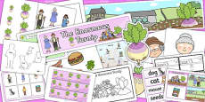 The Enormous Turnip KS1 Lesson Plan Ideas and Resource Teaching Pack