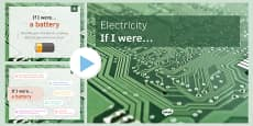 KS3 Electricity If I were.... PowerPoint