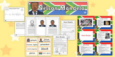 Nelson Mandela Resource Pack KS2
