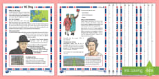 KS2 VE Day Differentiated Reading Comprehension Activity