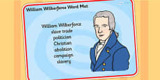 William Wilberforce Word Mat