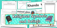 Religious Symbols and Beliefs Resource Pack