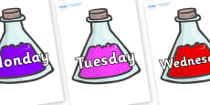 Days of the Week on Potions