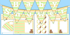 Baby Shower Decorations Pack