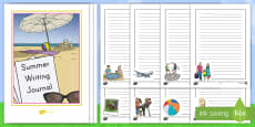 Summer Writing Activity Booklet